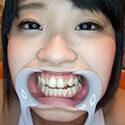 【歯フェチ】さとう愛理ちゃんのかわいらしい天然歯を観察!