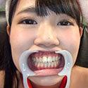 【歯フェチ】健康的美少女ひなたりこちゃんの健康な天然歯観察!