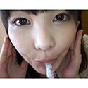 【舌フェチ唾フェチ】椎名りりこ(橘花音)のエロ長い舌・唾・口の臭い堪能コース1