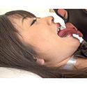 【舌フェチ唾フェチ】大槻ひびきのエロ長い舌・唾・口の臭い堪能コース2