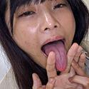 【舌フェチベロフェチ】久留木玲のエロ長い舌・ベロチュー&全身リップで手コキ射精