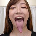 【舌フェチベロフェチ】流川千穂のエロ長い舌と口内をじっくり観察